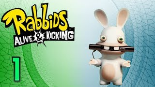 Let's Play: Rabbids Alive & Kicking - Episode 1