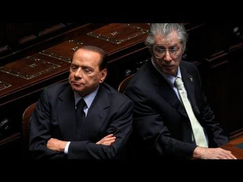 Italy coalition leader sees Berlusconi as an obstacle
