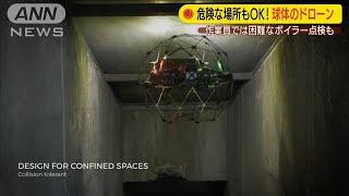 """最新""""球体ドローン"""" 危険な場所もOK・・・お値段は?(19/09/20)"""