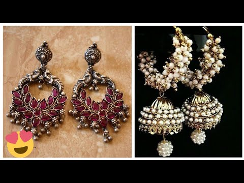 Beautiful Round Jhumka Style Earrings Designs Collection