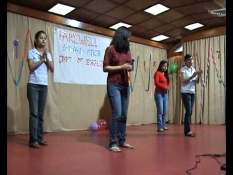 NEHU English Department Farewell 2008