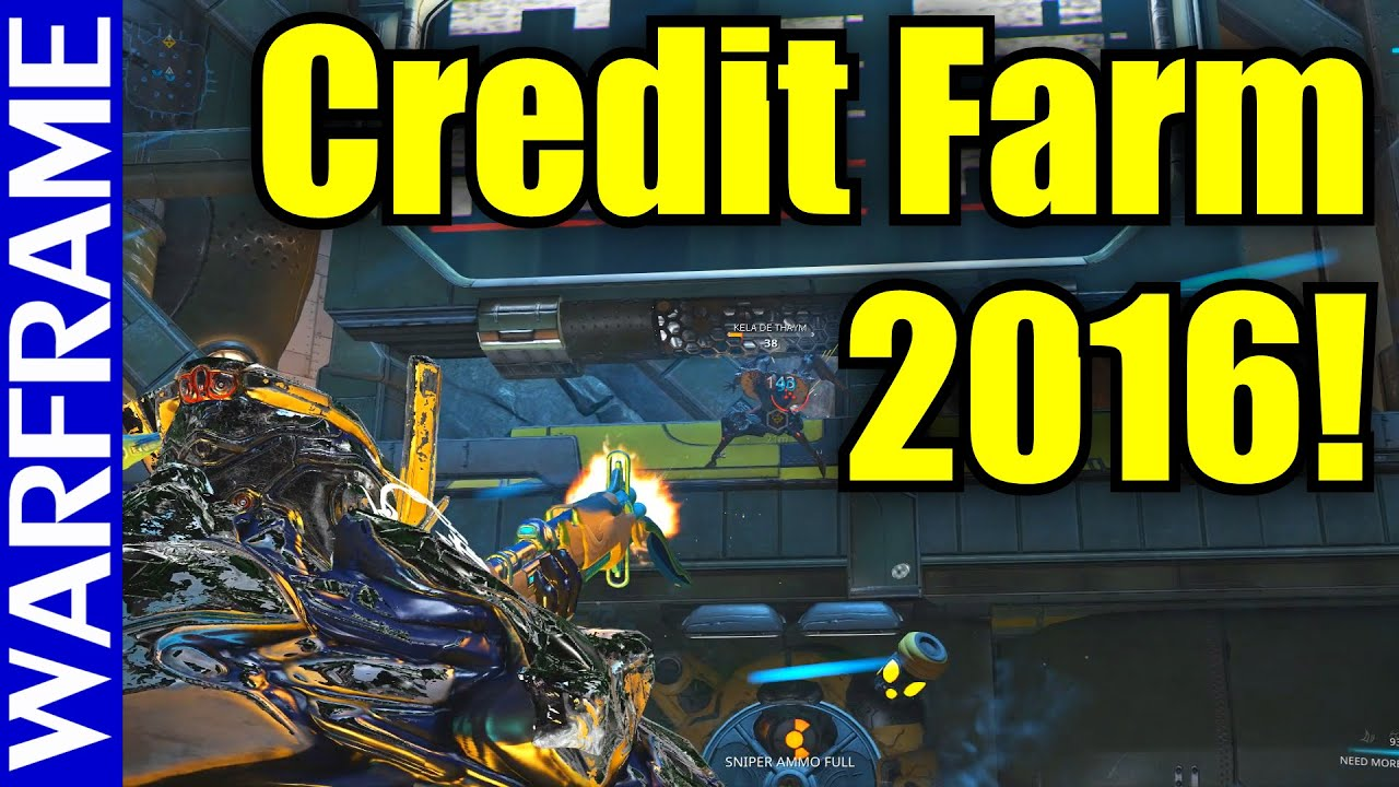 Warframe Credit Farming Guide - How To Get Credits In 2016 ...