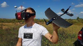 УЛЬТРАмодный самолет с FPV, управляемый с телефона!