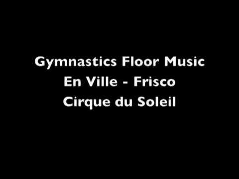 Gymnastics Floor  Cirque du Soleil/Jordyn Wieber