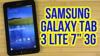 "Распаковка Samsung Galaxy Tab 3 Lite 7.0"" VE 8GB 3G Black (SM-T116NYKASEK)"