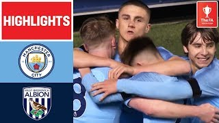 Tommy Doyle Scores Screamer! | Manchester City 4-2 West Bromwich Albion | FA Youth Cup 18/19