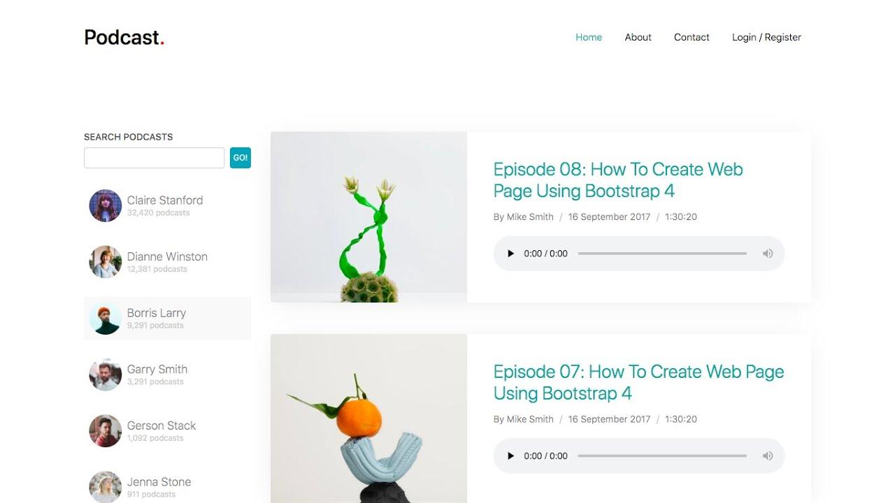 [REACT & NODE JS] Podcast Site | Setting Up