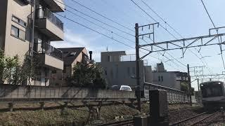 東急東横線5050系4000番台4102F万年堂カーブ通過
