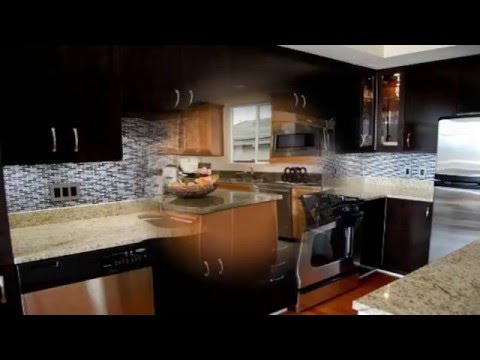 kitchen backsplash ideas for dark cabinets youtube. Black Bedroom Furniture Sets. Home Design Ideas