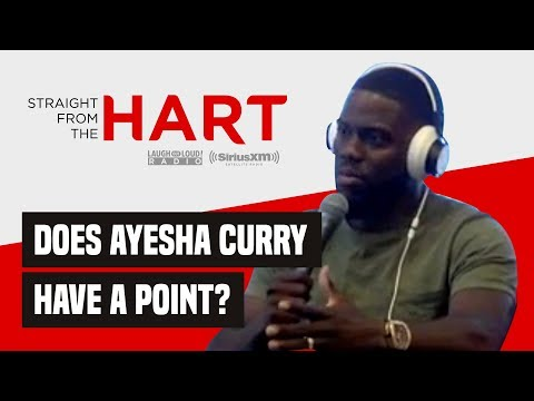 Kevin Hart Discusses Ayesha Curry's Controversial 'Red Table Talk' Interview  Straight From the Hart