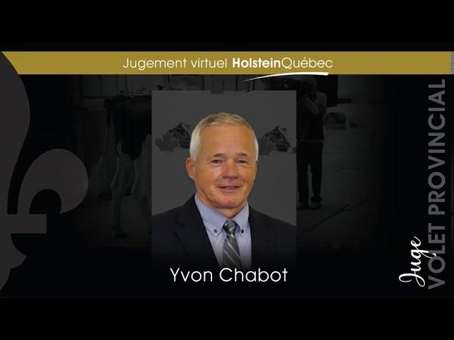 Résultats des championnats du jugement virtuel Holstein Québec - volet provincial