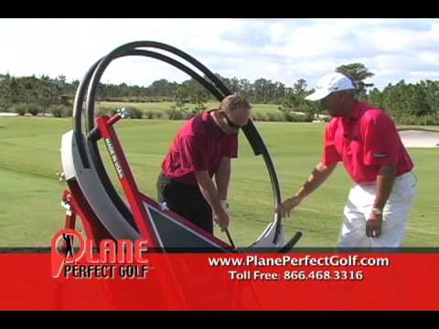 Golf Swing Trainer / Plane Perfect Golf Machine