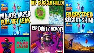 *NEW* Fortnite: MAJOR Lazer SKIN SET/Concert, Soccer Field VOID RIP, Dusty Beacon, Encrypted Skins!
