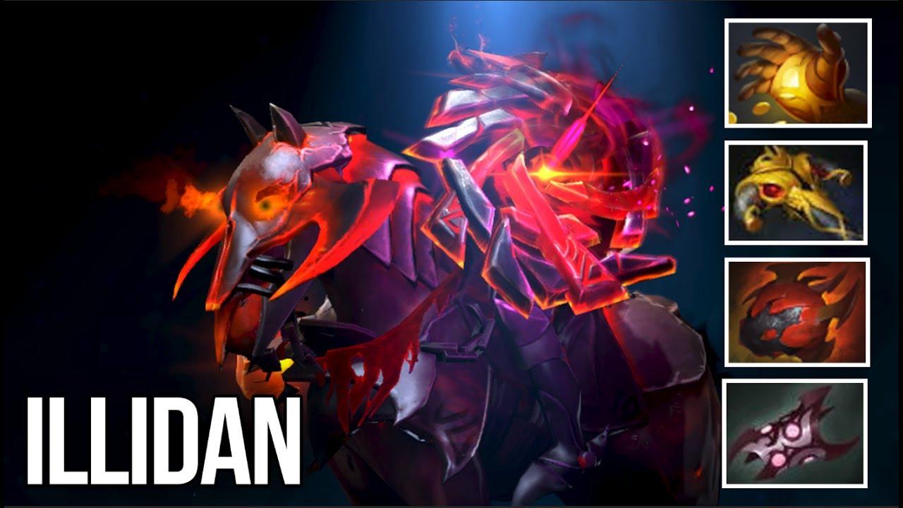 Illidan Chaos Knight Raid Boss New Immortal Dota