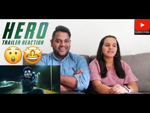 Hero Trailer Reaction | Malaysian Indian Couple | Sivakarthikeyan | Arjun | Yuvan Shankar Raja | 4K