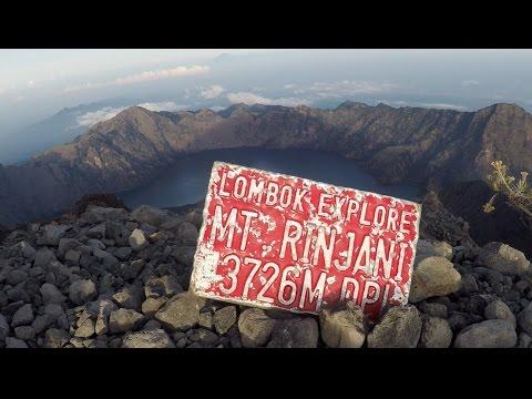 Trekking Mount Rinjani- GoPro Hero 5