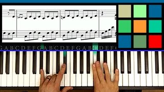 "How To Play ""Hallelujah"" - Part 1 Piano Tutorial / Sheet Music (Jeff Buckley / Leonard Cohen)"