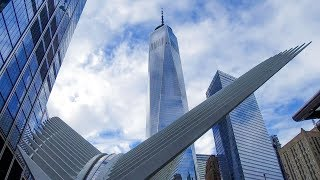 【4K】Walking around World Trade Center New York