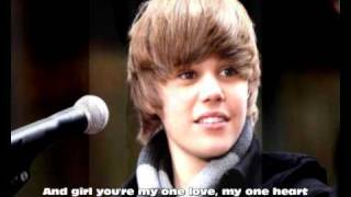 Justin Bieber-One time Acoustic Instrumental