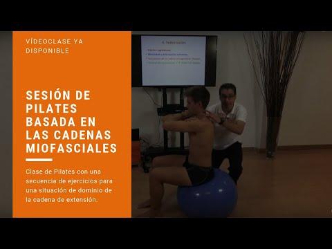 Sesión de Pilates basada en las Cadenas Miofasciales