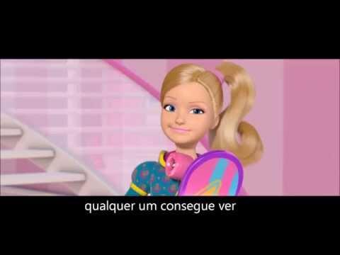 karaoke barbie princesa & pop star musica aqui estou versão(keira)