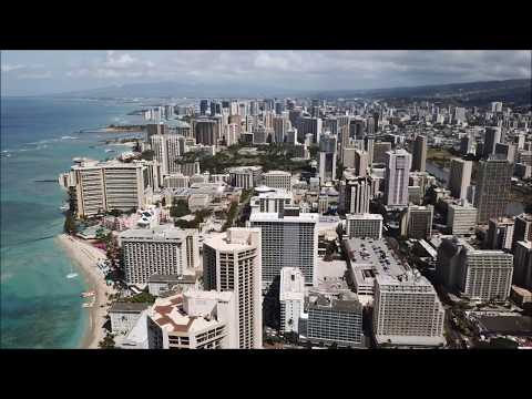 Honolulu Waikiki by Drone !!
