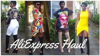 AliExpress Haul 2017 | TRY ON | UNDER $20!! | Slaying on a budget |Winge