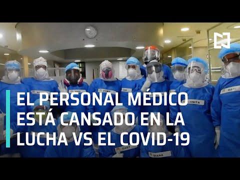 Médicos luchando contra el covid-19 | El personal médico está cansado - En Punto