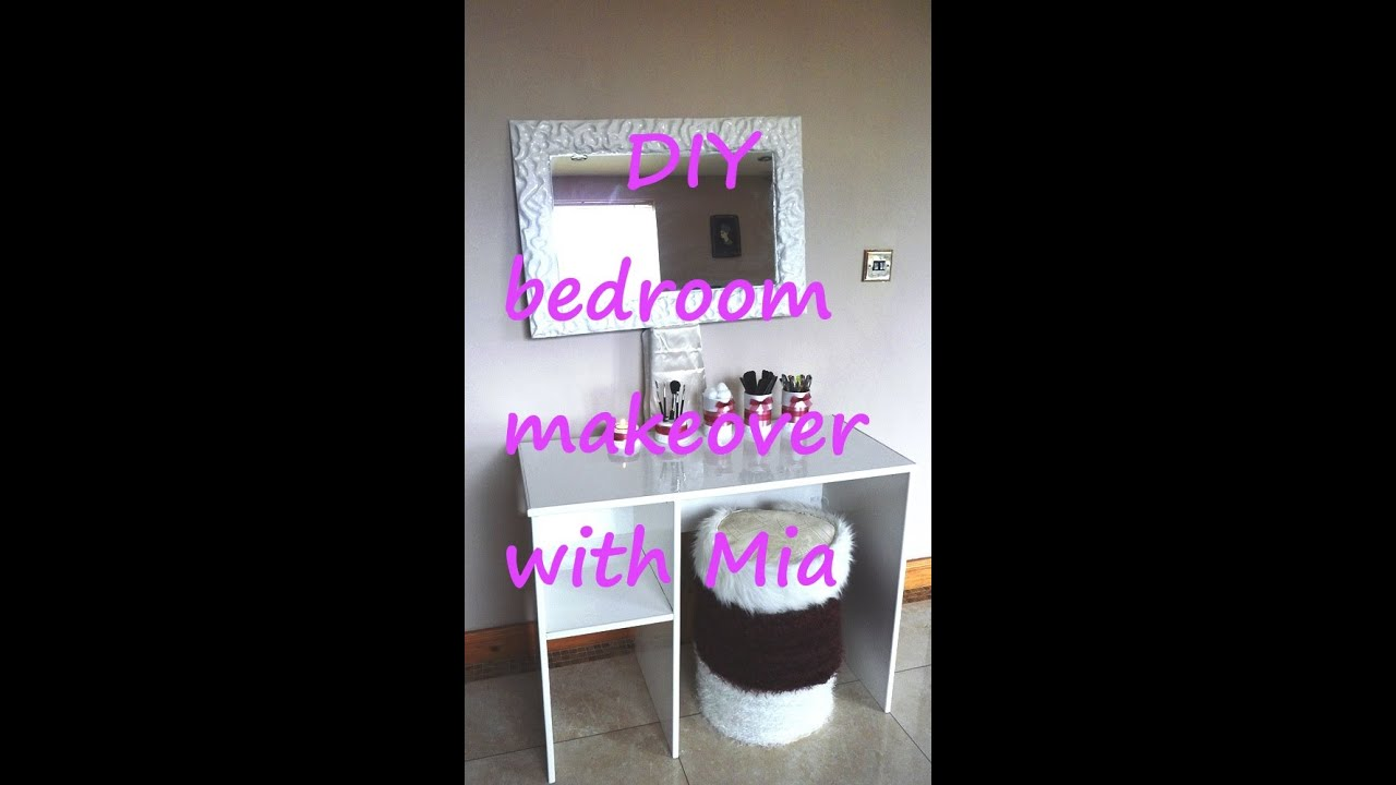 Diy Teenage Girl Bedroom Makeover diy bedroom makeover for a teenage girl - youtube