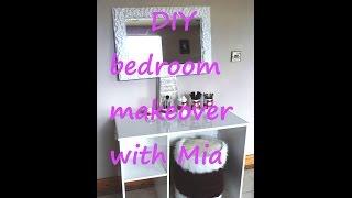 Diy Bedroom Makeover For A Teenage Girl