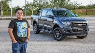 REVIEW 2017 Ford Ranger 22 FX4 in Malaysia