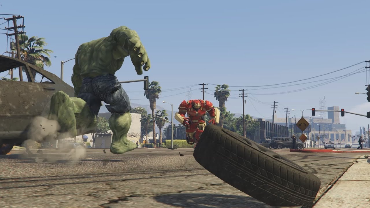 Incredible Hulk Grand Theft Auto 5 mod released • Eurogamer net