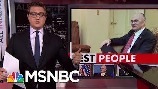 The Trump Swamp: Dept. Of Labor Edition   All In   MSNBC