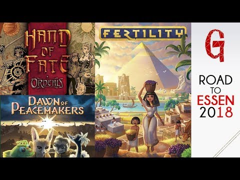 Road to Essen #05:  Fertility -  Hand of Fate - Dawn of Peacemakers