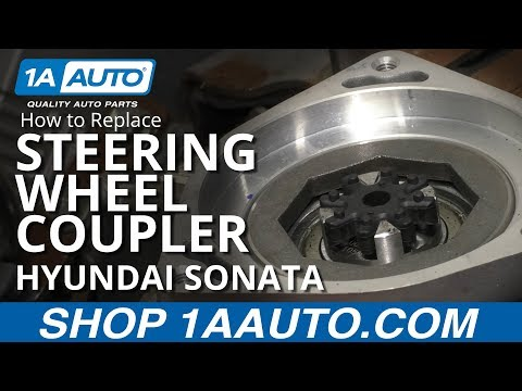 How to Replace Steering Wheel Coupler 11-14 Hyundai Sonata