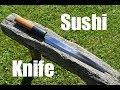 Knife making - Forging a Japanese Sushi Knife