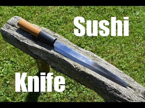 Knife making - Forging a Japanese Sushi Knife