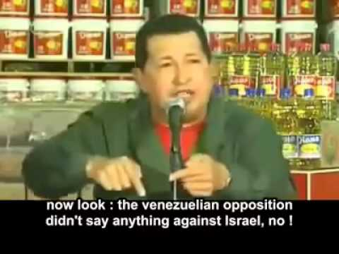 "Hugo Chavez: ""Israeli Mossad is trying to Kill me"""