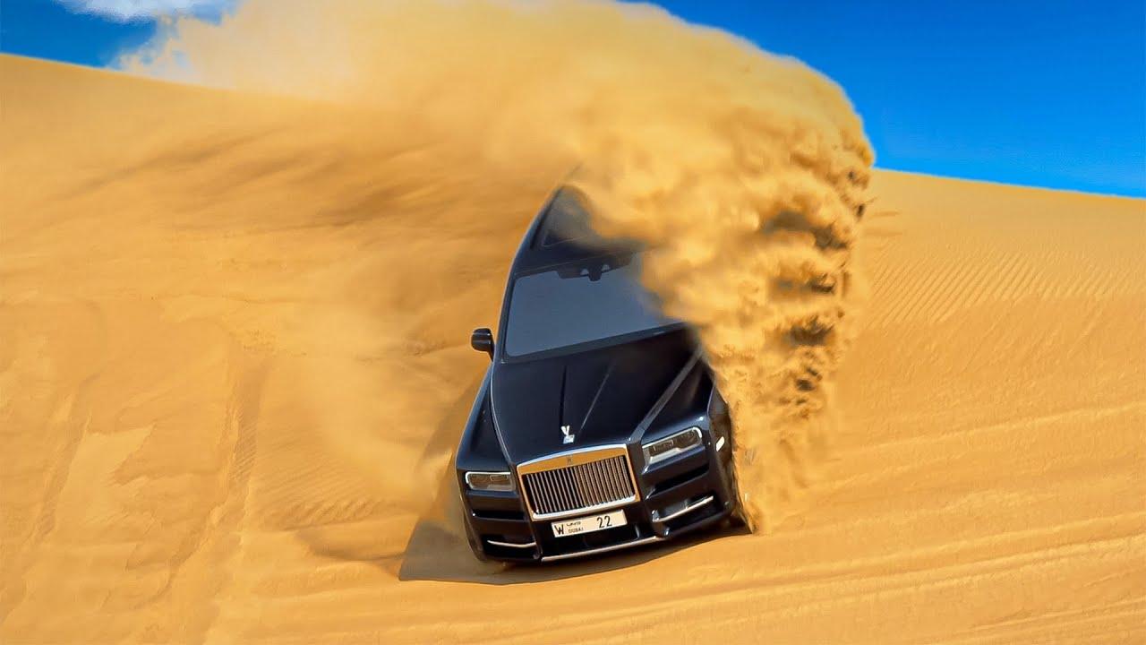 2021 Rolls-Royce Cullinan in the Desert   Off-Road in Luxury SUV - YouTube