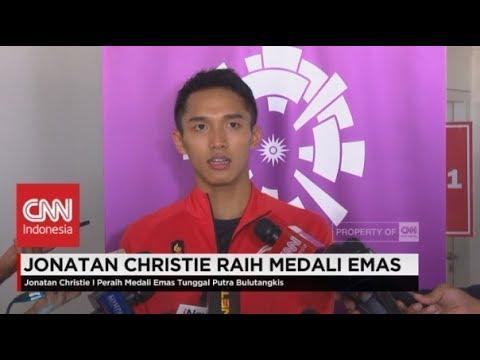 Jojo Akan Sumbang Uang Bonus- Jonathan Christie Sabet Medali Emas Badminton Asian Games