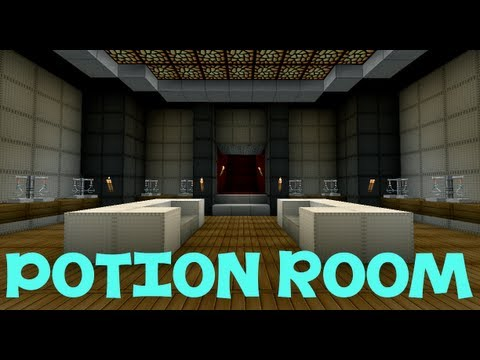Minecraft Potion Making Room Youtube