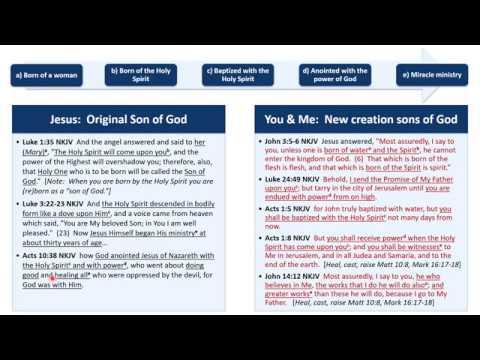 DBS 24 - Identity in Christ - I am a son of God - Sep 23 2018