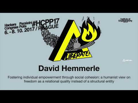 David Hemmerle - FOSTERING INDIVIDUAL EMPOWERMENT THROUGH SOCIAL COHESION | HCPP17