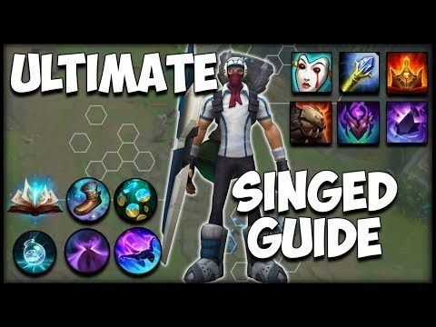 ULTIMATE SINGED GUIDE | Proxy, Runes, Summoner Spells, Items, Laning | Timestamps