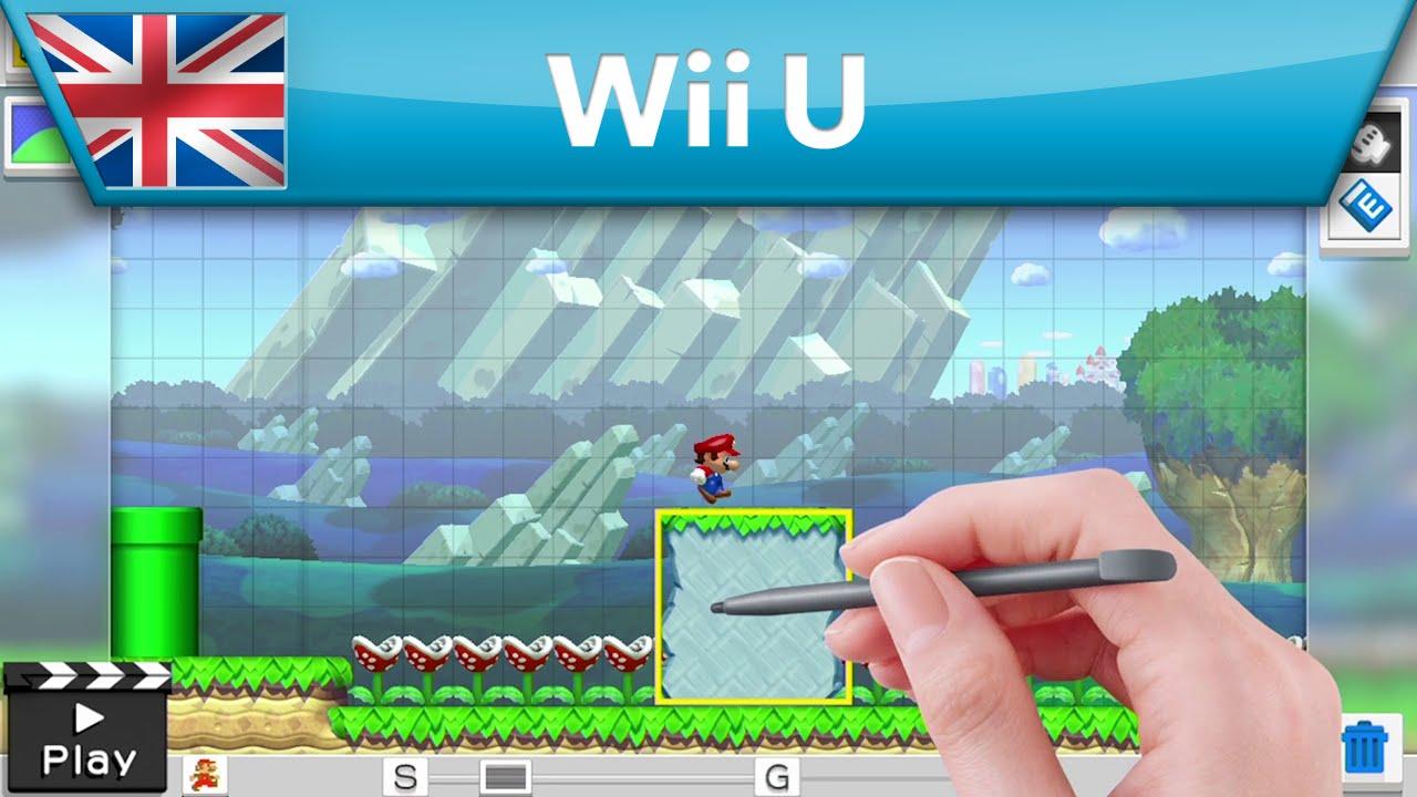 Wii U Game Trailer : Mario maker game awards trailer wii u youtube