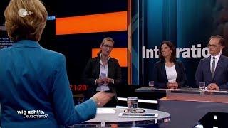 Alice Weidel verlässt ZDF-Talk