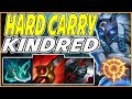 HOW TO HARD CARRYING WITH KINDRED IN SEASON 9! TRY HARD KINDRED JUNGLE VS. OLAF - League Of Legends