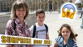 SURPRISE pour JOSH / Family Vlog Nous avons eu la chance de pouvoir...