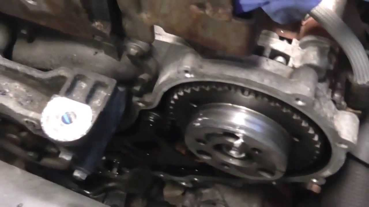 Ford 1 8 Tdci Wet Belt Timing Belt Youtube