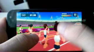 100 mètres sur London 2012 Le jeu officiel des jeux olympiques